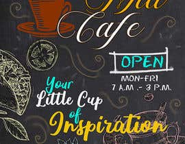 #34 for A Board Design for a cafe by EverlostJackie