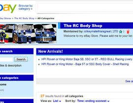 nº 47 pour Logo Design for The RC Body Shop - eBay par sgsuk
