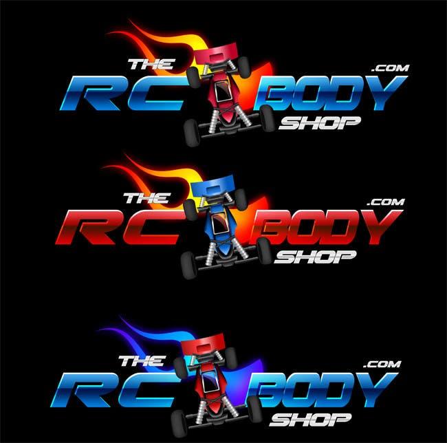 Bài tham dự cuộc thi #                                        66                                      cho                                         Logo Design for The RC Body Shop - eBay