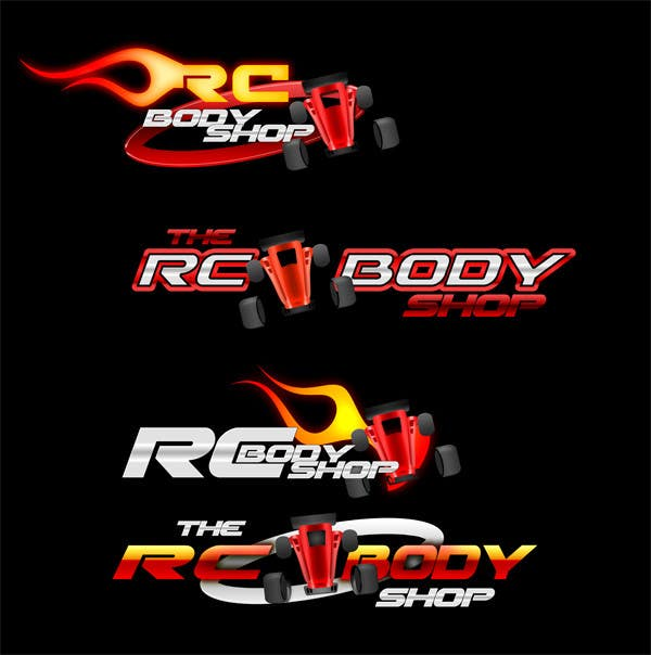 Proposition n°                                        18                                      du concours                                         Logo Design for The RC Body Shop - eBay