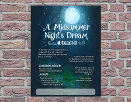 #13 for Midsummer Night's Dream Audition flyer by gustavoyepez