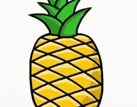 #23 for I need you to make a simple design of a pineapple. It doesnt really need to much detail. Just have a yellow pineapple with a green top (leaves). by saranyats