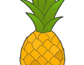 #19 for I need you to make a simple design of a pineapple. It doesnt really need to much detail. Just have a yellow pineapple with a green top (leaves). by dcarolinahv
