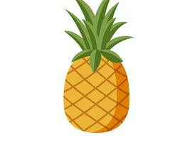 #9 for I need you to make a simple design of a pineapple. It doesnt really need to much detail. Just have a yellow pineapple with a green top (leaves). by xzodia1001
