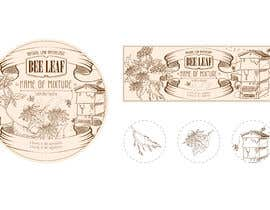 #33 for Tincture print label design and Salve tin by vothaidezigner
