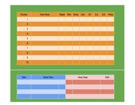 #1 cho soccer league table spreedsheet bởi martyydeligero