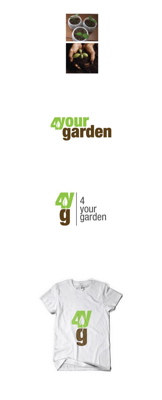 Kilpailutyö #260 kilpailussa Logo Design for 4yourgarden.nl