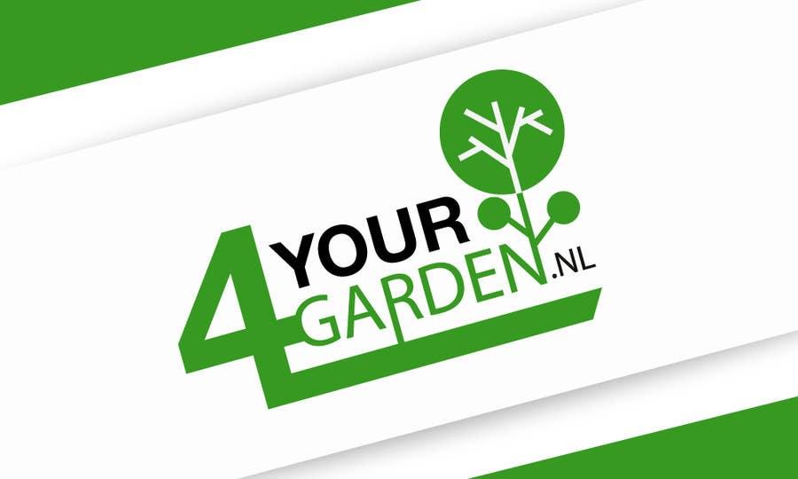 Penyertaan Peraduan #364 untuk Logo Design for 4yourgarden.nl