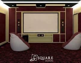 #3 for Home theater interior design af ssquaredesign