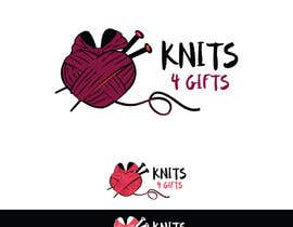 #114 for Design a Logo for Knits4Gifts by markovicnatasha