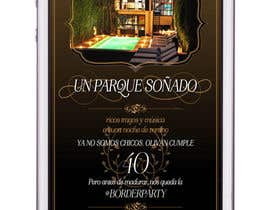 #63 для Digital birthday party invitation от LiDieu