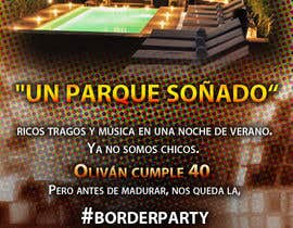 #41 для Digital birthday party invitation от granados