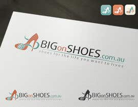 topcoder10 tarafından Logo Design for Big On Shoes için no 319