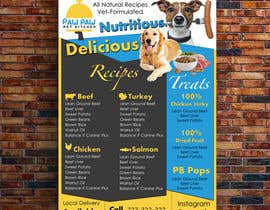 #92 for Design a One-Page Menu Flyer for PET Food by mylogodesign1990