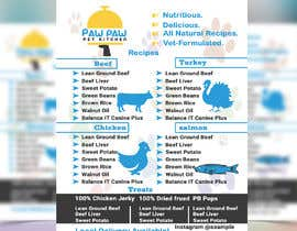#111 for Design a One-Page Menu Flyer for PET Food af ranamdshohel393