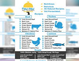 #112 for Design a One-Page Menu Flyer for PET Food by ranamdshohel393