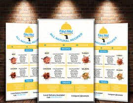 #81 for Design a One-Page Menu Flyer for PET Food af syhamsmt