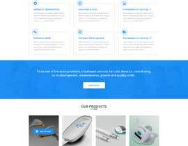 #10 for Design and build a website (landing page) for a company. Multilanguage by Baljeetsingh8551