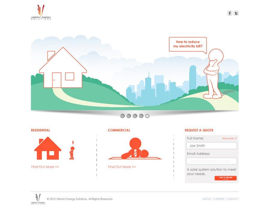 Konkurrenceindlæg #115 for Website Design for Vibrant Energy Solutions