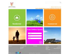 #112 untuk Website Design for Vibrant Energy Solutions oleh jeransl