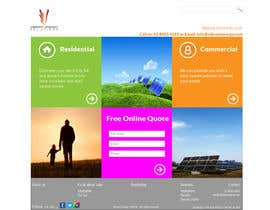 #107 untuk Website Design for Vibrant Energy Solutions oleh jeransl