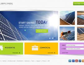 #121 untuk Website Design for Vibrant Energy Solutions oleh Bkreative