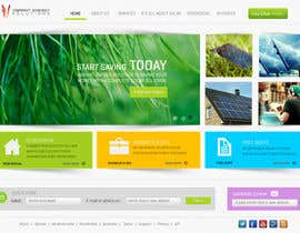 #94 untuk Website Design for Vibrant Energy Solutions oleh Bkreative