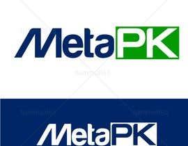 Nro 171 kilpailuun Design a Logo for MetaPK käyttäjältä hammad143
