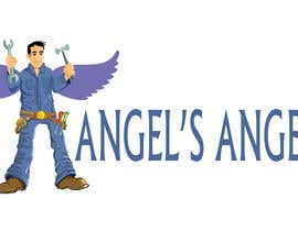 "#14 para Design a Logo for my handyman business called ""Angel's Angels"" por RishiKhan"