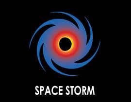 akram013 tarafından Photoshop Logo Design and Vectorisation - Black Hole / Space Storm için no 26