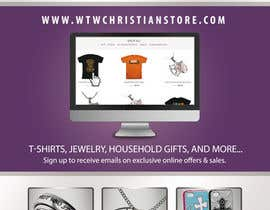 #9 for Design a Flyer for Christian Themed web store af Decomex