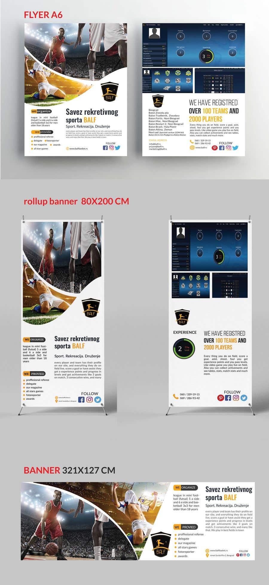 Konkurrenceindlæg #15 for Design a Banner, roll up and flyer