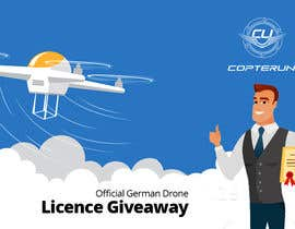 #91 para Design a Banner for a magazine's competition which is about the drone licence de ogunwaleformat