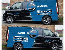 #35 for Design graphics and artwork for 2018 Ford Transit Custom van by TheFaisal