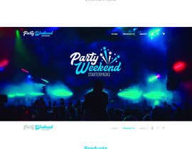 #143 for Party Weekend Logo af ChavezR