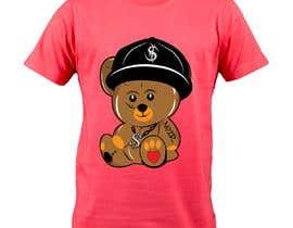 #61 untuk Create a Teddy Bear Logo for a shirt oleh teambart