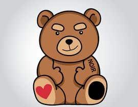 #6 untuk Create a Teddy Bear Logo for a shirt oleh dovahcrap
