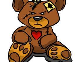#26 untuk Create a Teddy Bear Logo for a shirt oleh ToaMota