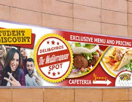 #56 for Create a catchy restaurant banner for students by jovanastoj