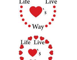 #6 for vector pdf file  for a church - needs to say: Live Life ❤️'s Way   At the bottom edge of the decal and smaller it needs to say: www.loveswaychurch.com Can be circle or oval / sideways oval might look good? Not sure of colors ?Just heart needs to be red. af jakirhossain9246