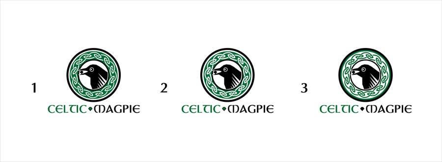 Inscrição nº                                         49                                      do Concurso para                                         Graphic Design for Logo for Online Jewellery Site - Celtic Magpie