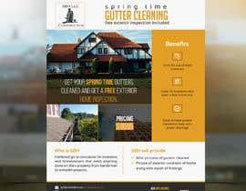 """Nro 53 kilpailuun 8 1/2"""" X 11"""" - Flyer - Gutter Cleaning käyttäjältä SLP2008"""