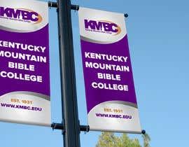 #106 for Design a Lightpole Banner for a College by alomgirdesigner