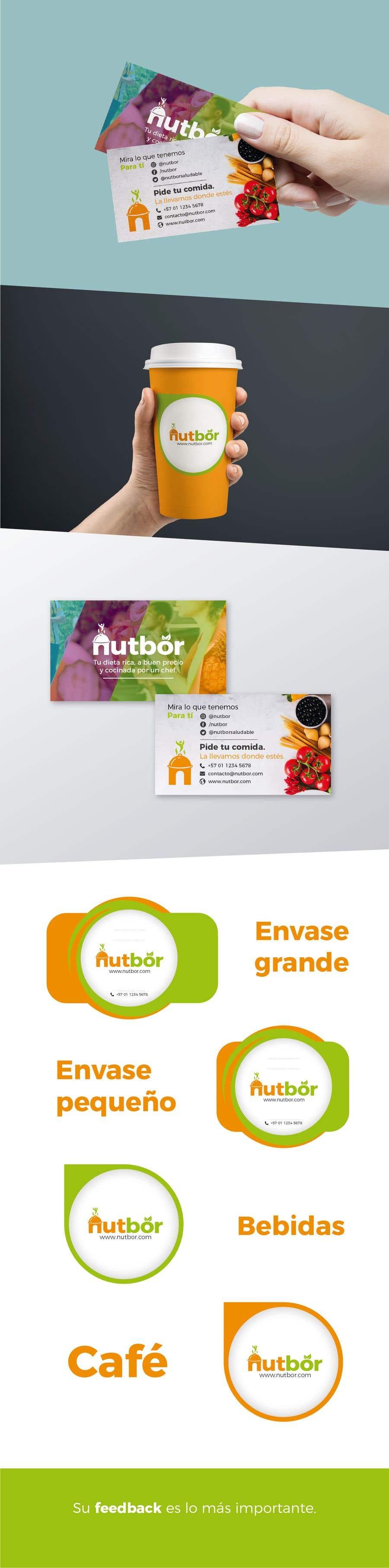 Dise o de etiquetas de producto y tarjeta publicitaria for Diseno de etiquetas