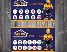 #13 for Design and Print a 1) Loyalty Pass (Membership Pass) and 2) Multi Pass for kids Indoor Playground Facility by tanveermh