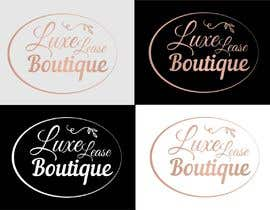 """#10 for My New Logo For My Clothing Business, it will also be the main page image so needs to be eye catching but simple. My business is called """"Luxe Lease Boutique"""" It is a clothing boutique,  For luxury designer dresses,  Favorite colors: Gold, Black & Red by ConceptGRAPHIC"""
