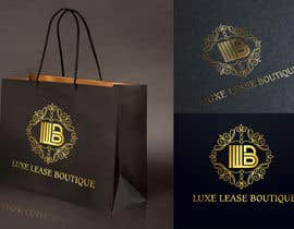 """#4 for My New Logo For My Clothing Business, it will also be the main page image so needs to be eye catching but simple. My business is called """"Luxe Lease Boutique"""" It is a clothing boutique,  For luxury designer dresses,  Favorite colors: Gold, Black & Red by g8313mandula"""