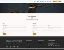 #17 for Home Page and Sign Up Forms by wurfel