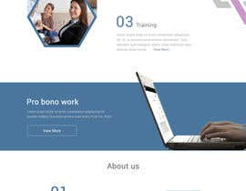 #22 for One page mockup for a website (landing page) af Javid004