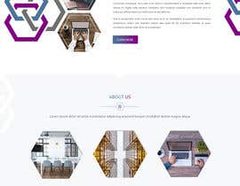 #50 for One page mockup for a website (landing page) by Isha3010
